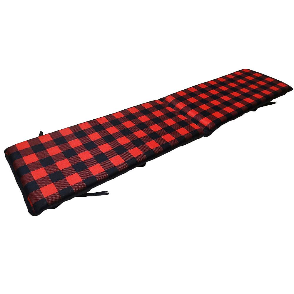 Streamridge Plaid 6 ft. Toboggan Pad