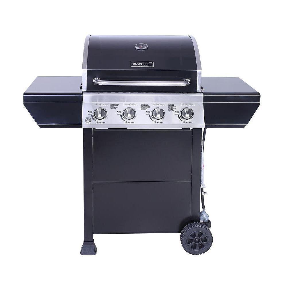 NexGrill 4-Burner Propane Gas BBQ | The Home Depot Canada