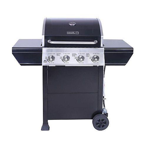 4-Burner Propane Gas BBQ