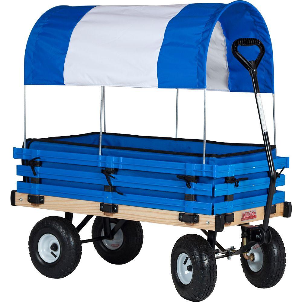 Millside Industries Classic Kids Poly Rack Wagon