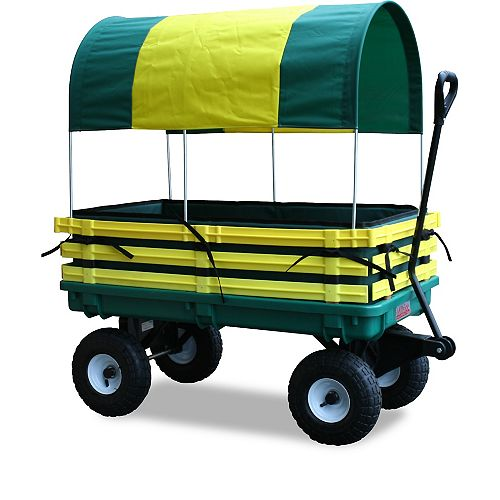 Kids Covered Trekker Wagon