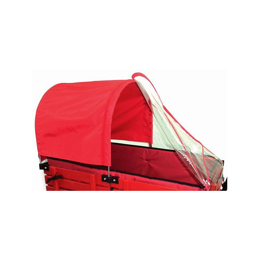 Millside Industries Half Canopy/Weather Shield Combo for 20-inch x 38-inch Wagon