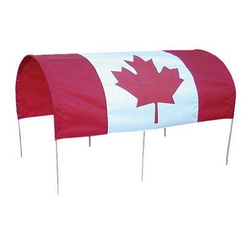 Full Canada Flag Wagon Canopy