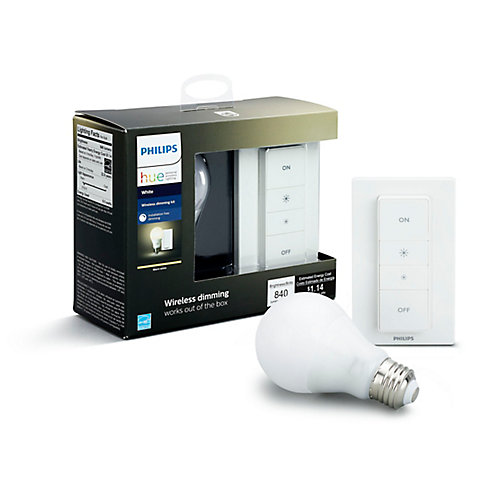 Hue Wireless Dimming Kit - Kit de gradation sans fil - ENERGY STAR®