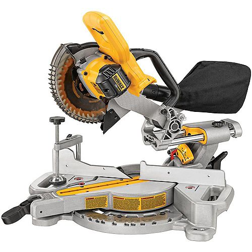 20V MAX Lithium-Ion Cordless Brushless 7-1/4-inch Sliding Miter Saw (Tool-Only)