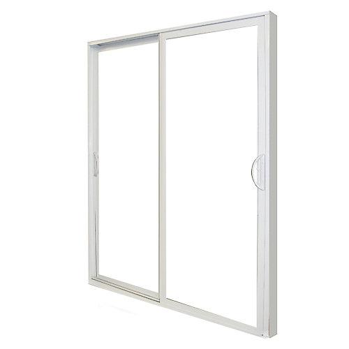Porte Coulissante Double de 5 pi PVC - ENERGY STAR®