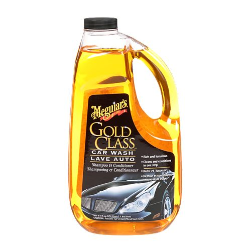 Shampoing et conditionneur pour automobiles Gold Class(MC) Meguiar's, G7164C, 1,89 l (64 oz liq.)