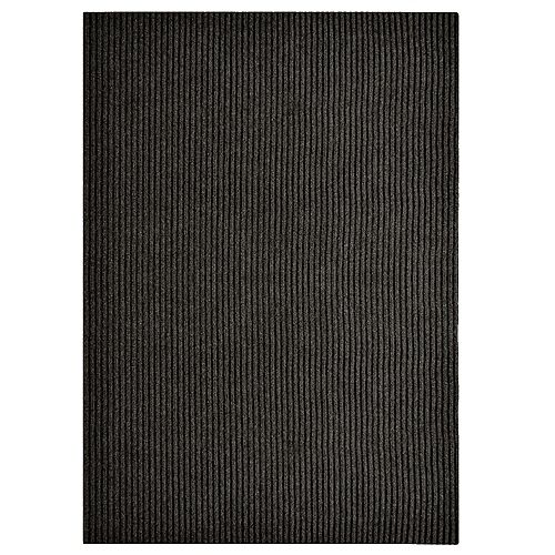 Impact Rib Black 2 ft. 4-inch x 82 ft. Runner
