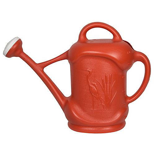3 US Gal. / 11,3L Watering Can with Heron Design, Orange