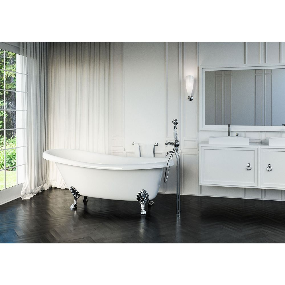 Mirolin Bayla 5 Feet 7-Inch Freestanding Bathtub