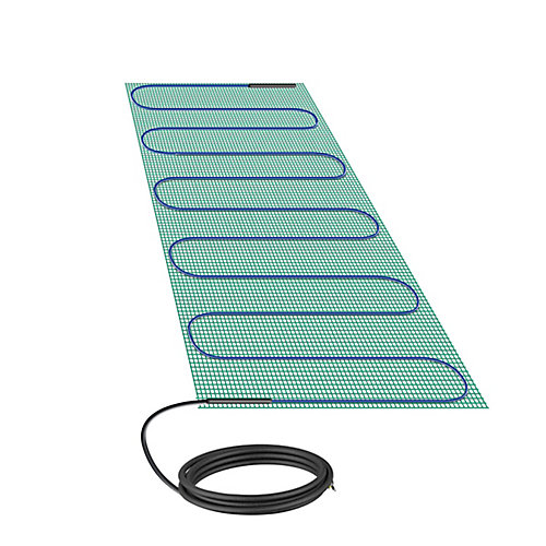 Tempzone Bench Shower Mat 120V 1.3ft.x 2.7ft.,3.6 Sq. ft.