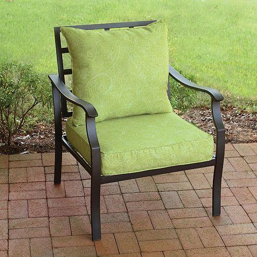 Deep Seat Set-Batik New in Green - (2-Piece)