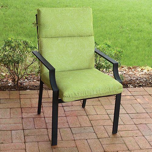 HighBack Cushion-Batik New in Green
