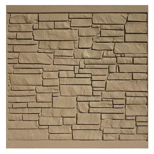 6 X 6   Fence Panel - Brown  Granite