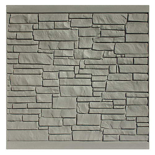 6 X 6   Fence Panel - Grey Granite