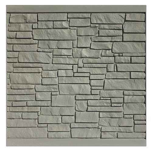 Panneau de clôture 6 X 6 - Granit gris
