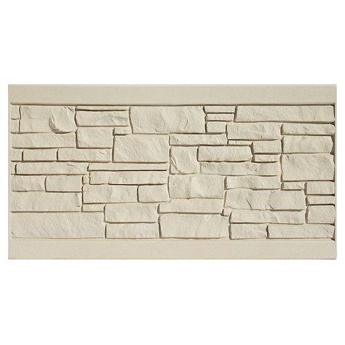 3 X 6  Fence Panel - Beige Granite