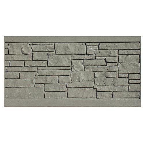 3 X 6  Fence Panel - Grey Granite
