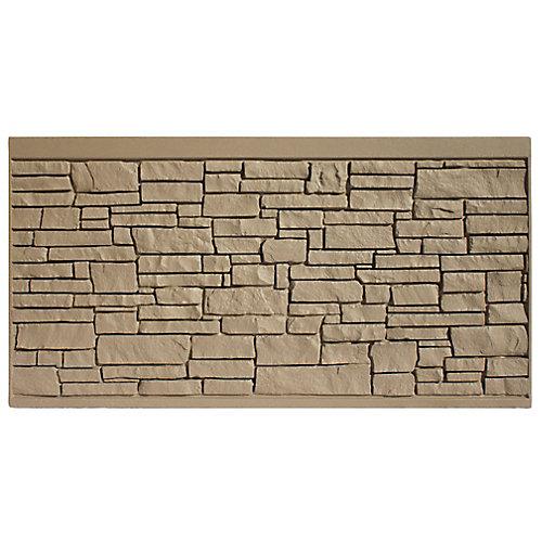 4 X 8  Fence Panel - Brown Granite
