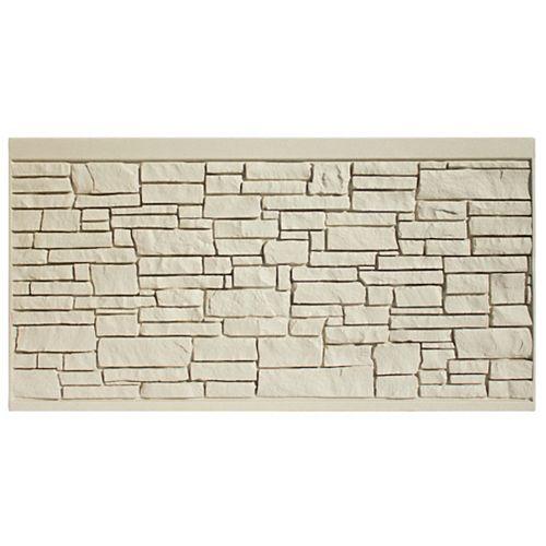 Panneau de clôture 4 X 8 - Granit beige