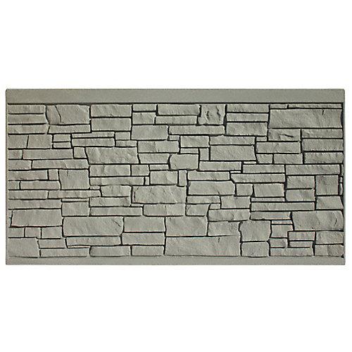 4 X 8  Fence Panel - Grey Granite