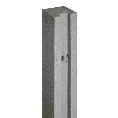 "102"" X 5"" Poteau de porte - Gris Granite"