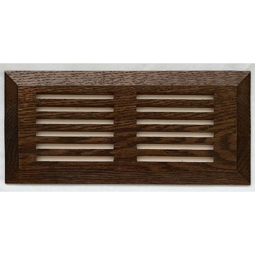 Finium Oak Mocha Top mount Register 4 Inchx10 Inch