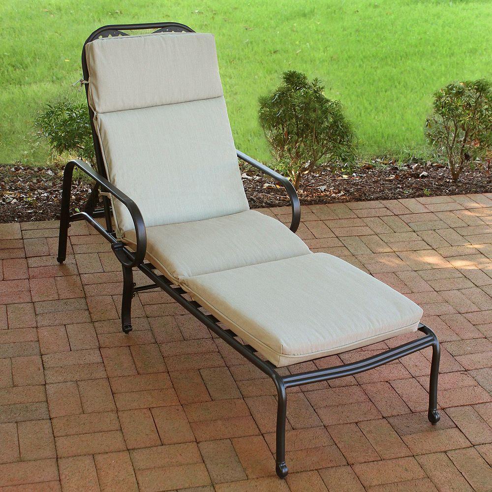 Suntastic Chaise Cushion-Ooloo Square Linen