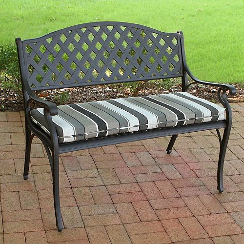 Outdoor Bench Cushion in Multi Color