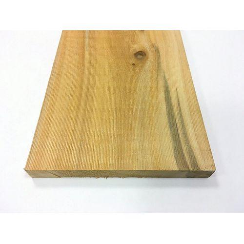 JDIRVING 1  Inch x 8  Inch x 8  Feet  Rough Cedar