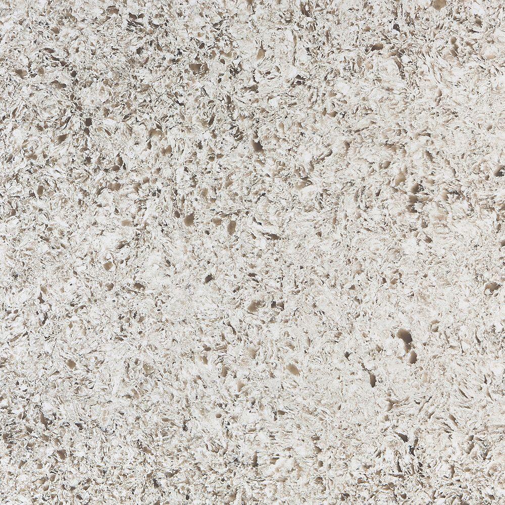 Silestone 4-inch x 4-inch Quartz Countertop Sample in Arctic