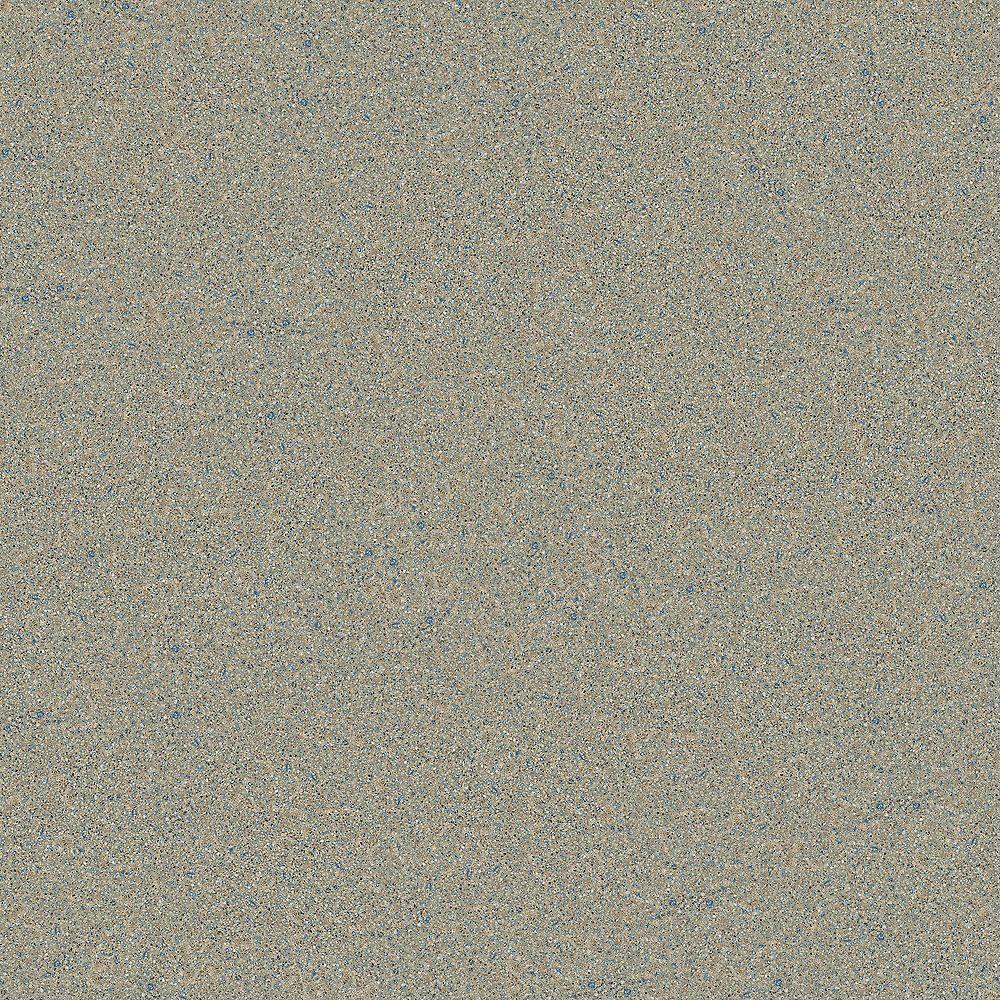 Silestone 4-inch x 4-inch Quartz Countertop Sample in Blue Sahara