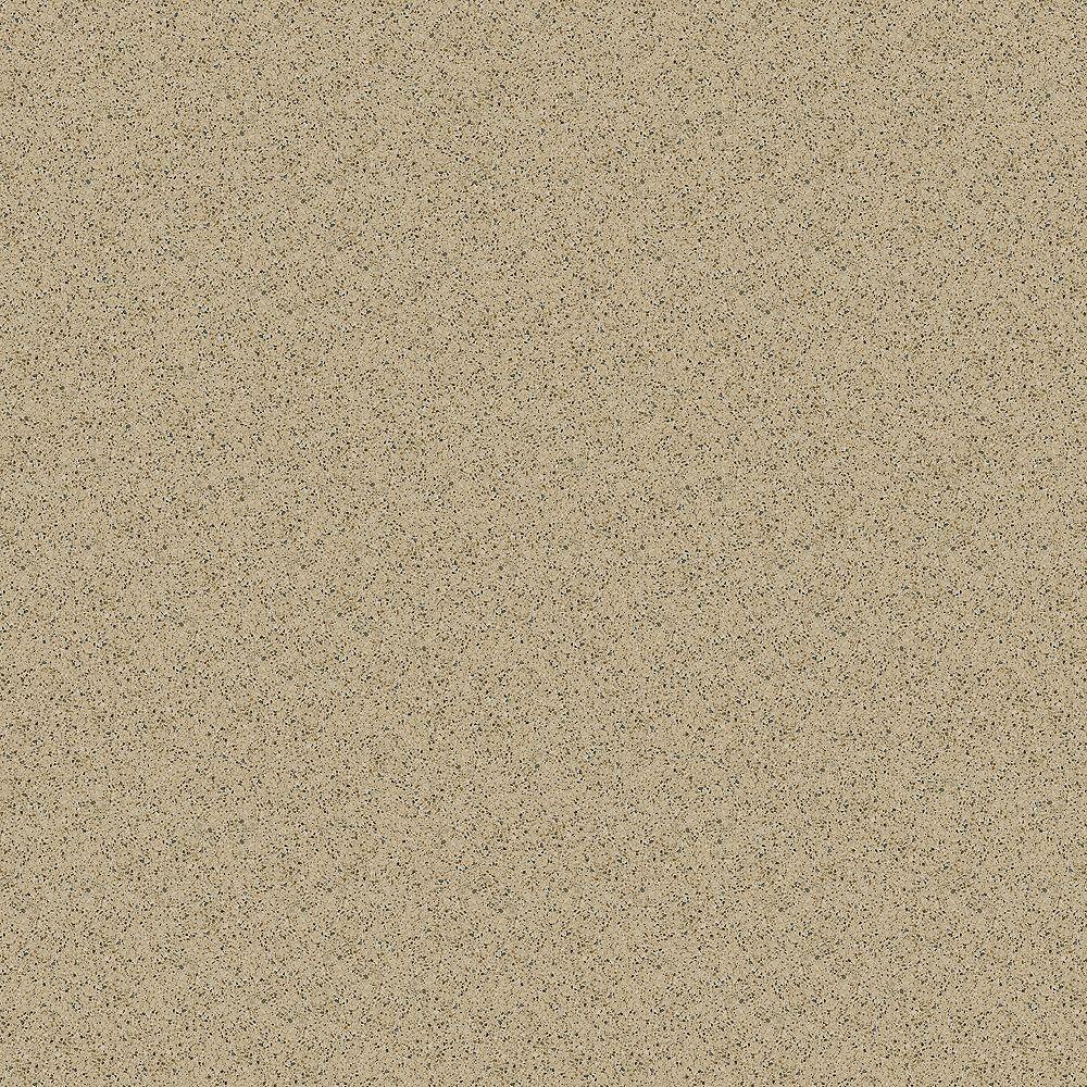 Silestone 4-inch x 4-inch Quartz Countertop Sample in Bamboo
