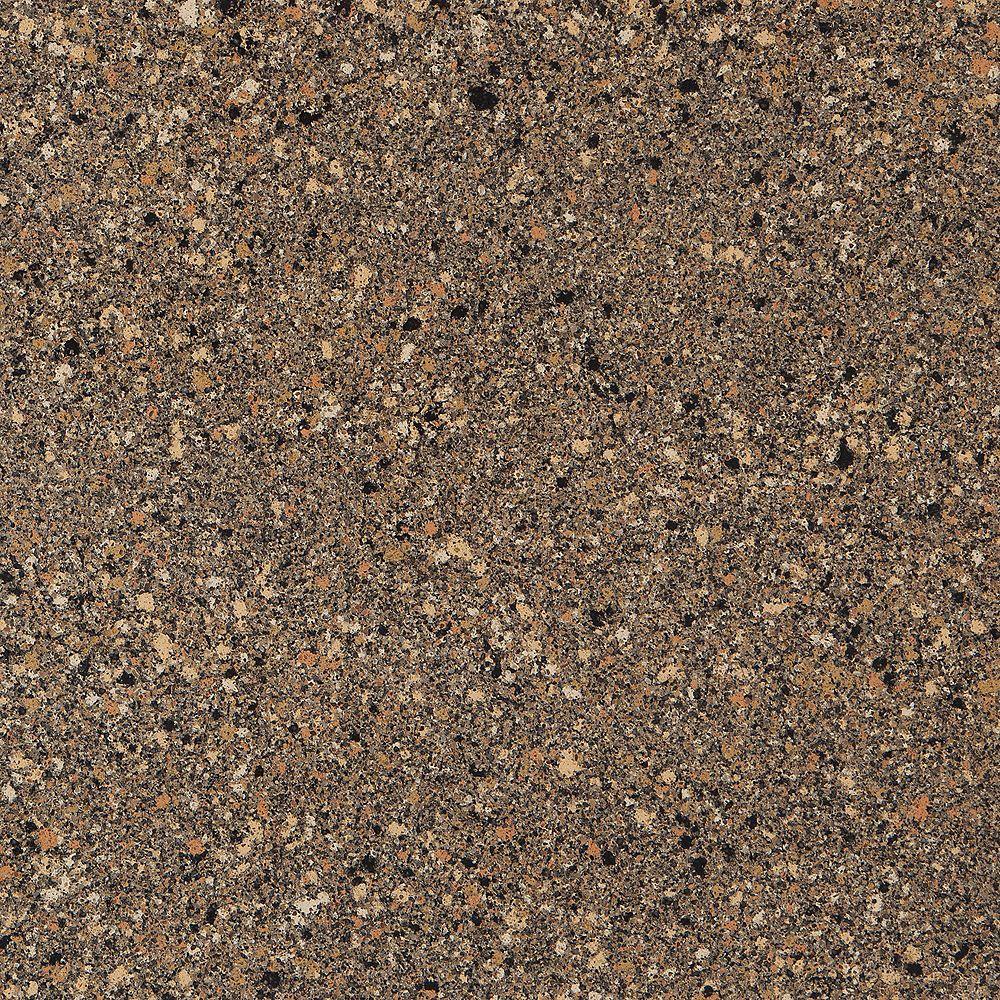 Silestone 4-inch x 4-inch Quartz Countertop Sample in Black Canyon
