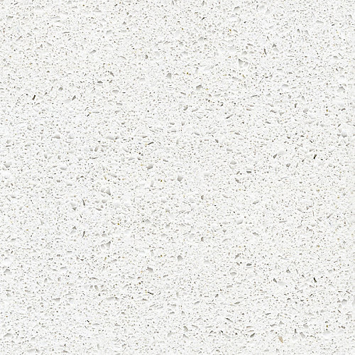 4-inch x 4-inch Quartz Countertop Sample in Blanco Maple