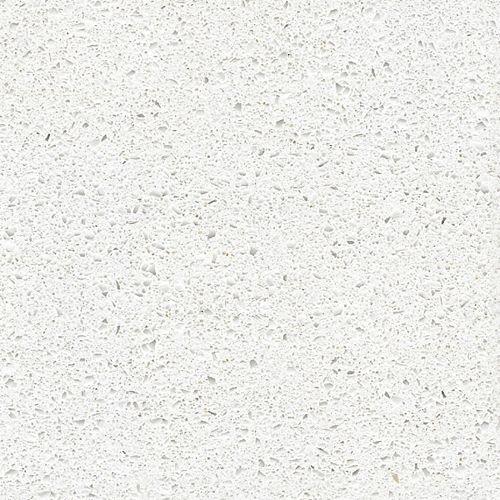 4-inch x 4-inch Quartz Countertop Sample in Blanco Maple