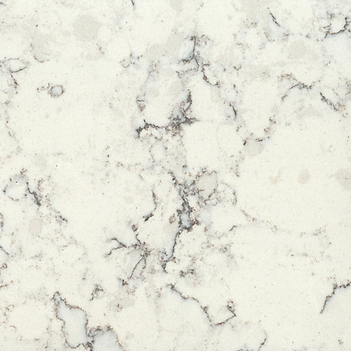 4-inch x 4-inch Quartz Countertop Sample in Blanco Orion