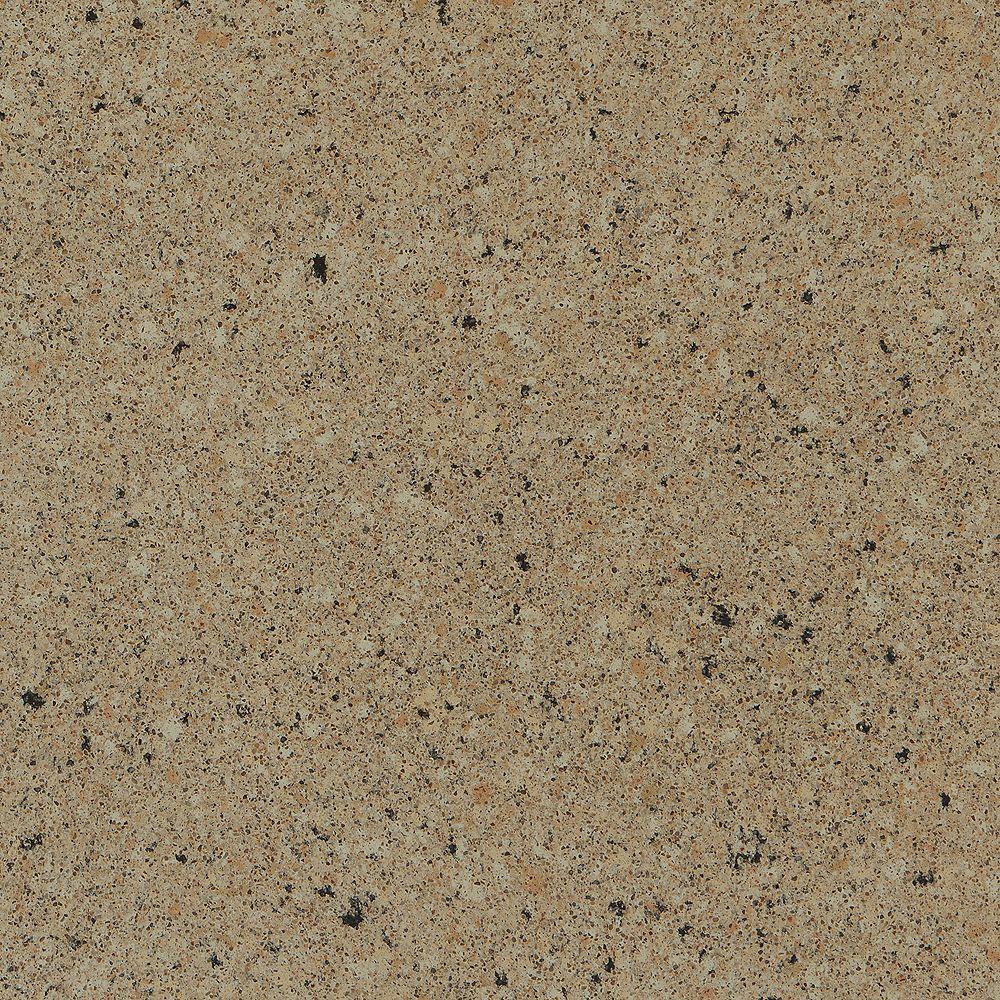 Silestone 4-inch x 4-inch Quartz Countertop Sample in Giallo Quarry