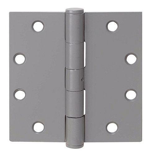 Commercial Hinges - No Bearings 4.5 Inch x 4.5 Inch (3-Pack)