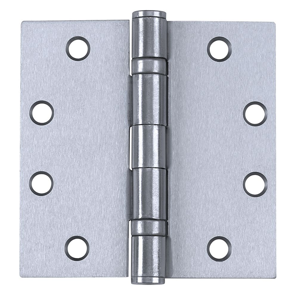 Tell Commercial Hinges Ball-Bearing 4.5 Inch x 4.5 Inch (3-Pack)