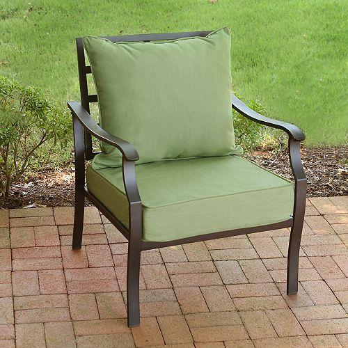 2-Piece Deep Seat Set-Ooloo Square Sage Green