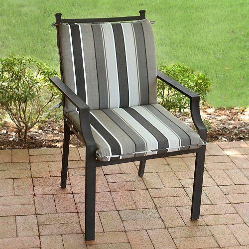 MidBack Cushion in Sundeck Neutral Stripe