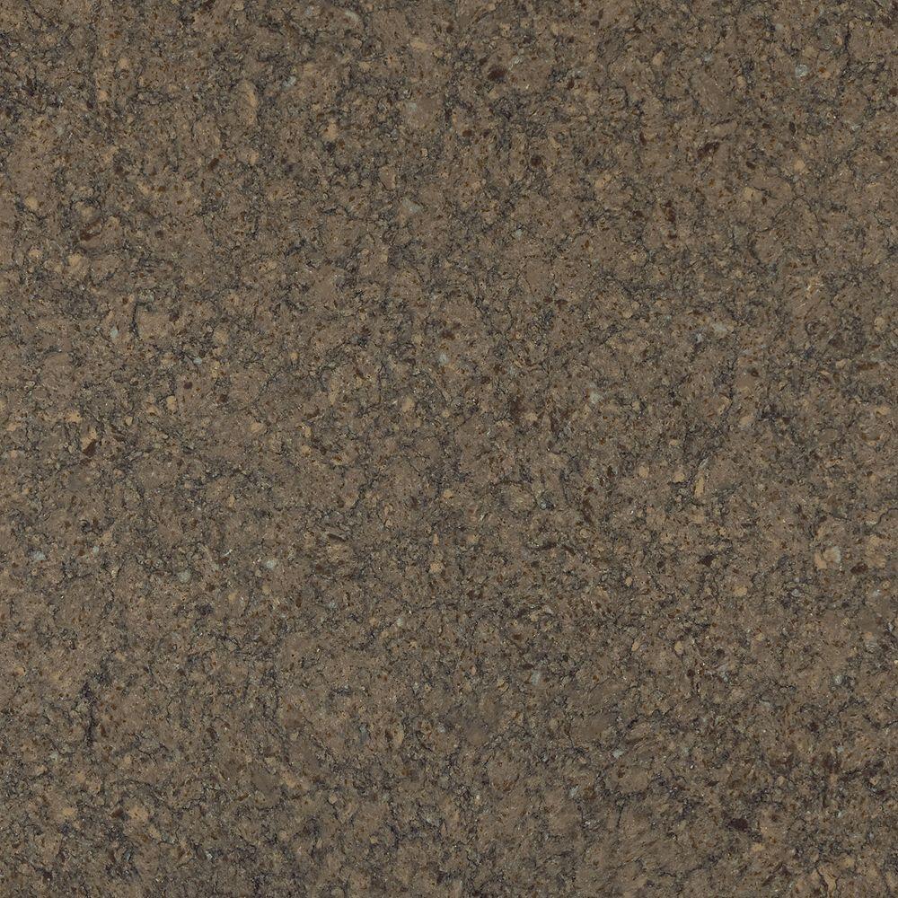 Silestone 4-inch x 4-inch Quartz Countertop Sample in Kimbler