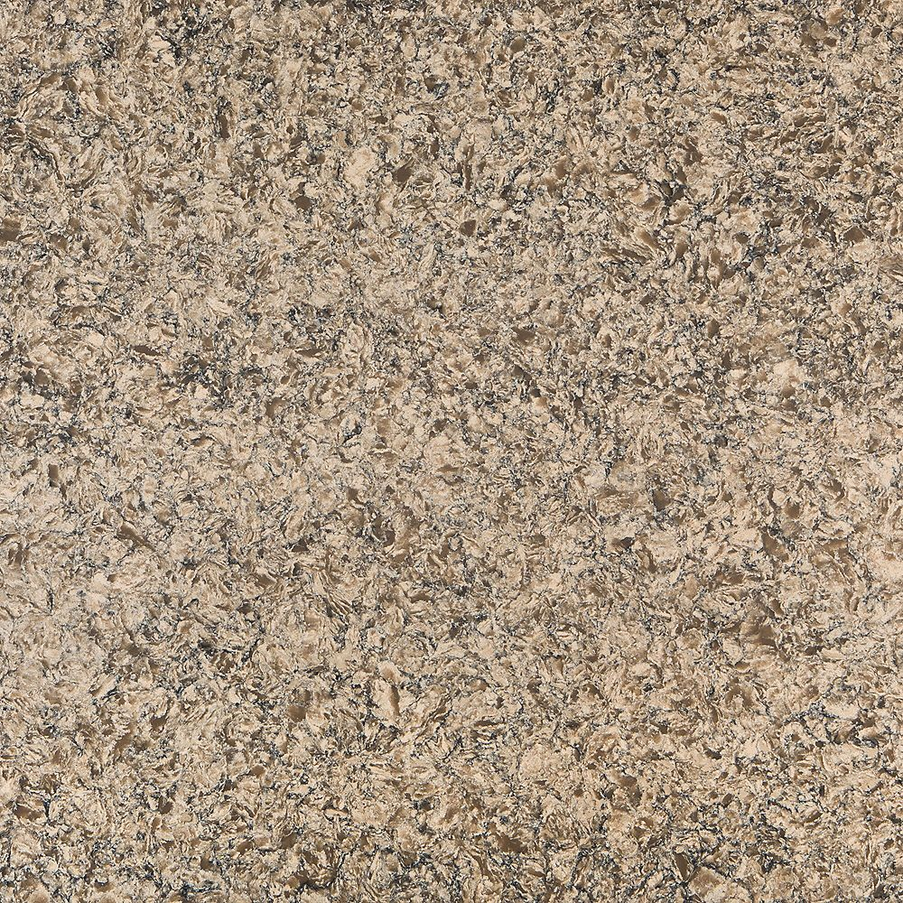 Silestone 4-inch x 4-inch Quartz Countertop Sample in Mediterranean