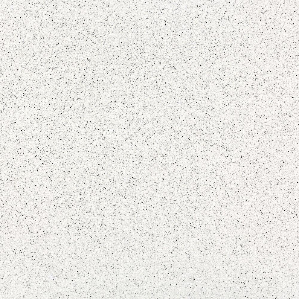 Silestone 4-inch x 4-inch Quartz Countertop Sample in Stellar Snow