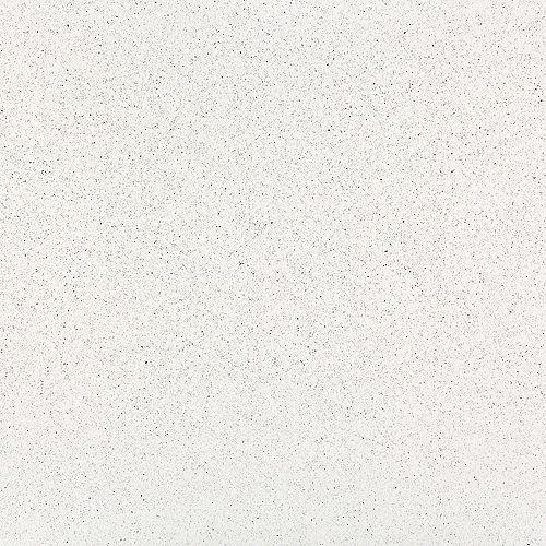 4-inch x 4-inch Quartz Countertop Sample in Stellar Snow