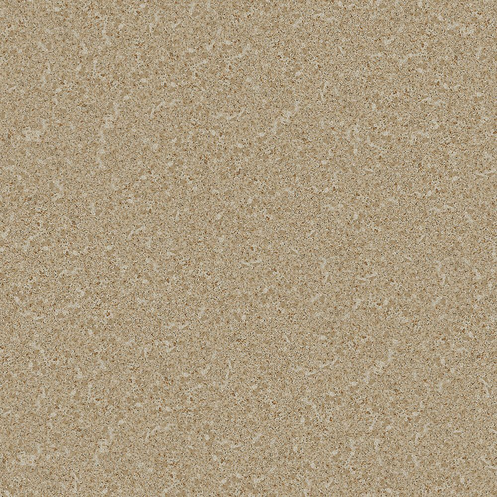 ECO 4-inch x 4-inch Quartz Countertop Sample in Red Pine Suede