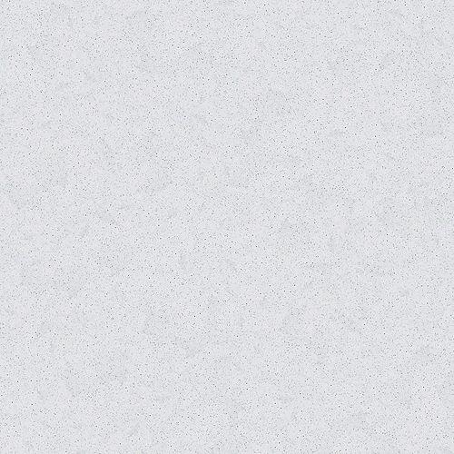 4-inch x 4-inch Quartz Countertop Sample in White Diamond