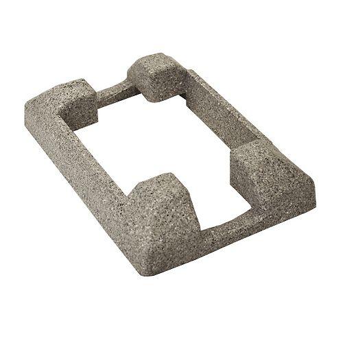 Jupe décorative pour poteau - Gris Granite
