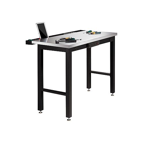 Newage 48 Inch.  Stainless Steel Work Bench With Power Bar